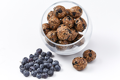 Blueberry Energy Bites