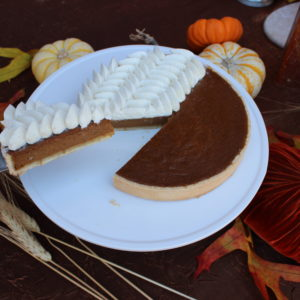 Pumpkin Pie - Vanilla Whipped Cream