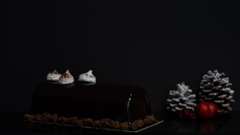 JL Patisserie Chocolate Hazelnut Christmas log – collection 2019