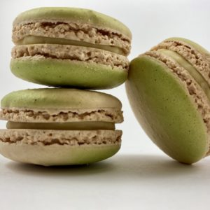 JL PATISSERIE - Coconut lime macaron