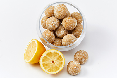 Lemon Lavender Energy Bites
