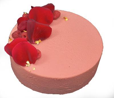 White Chocolate – Rose and Raspberry Cake